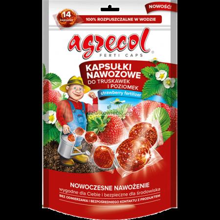 Agrecol kapsułki nawozowe do truskawek i poziomek