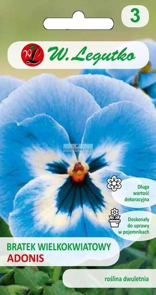 Bratek wielkokwiatowy - Adonis (0,4 g)