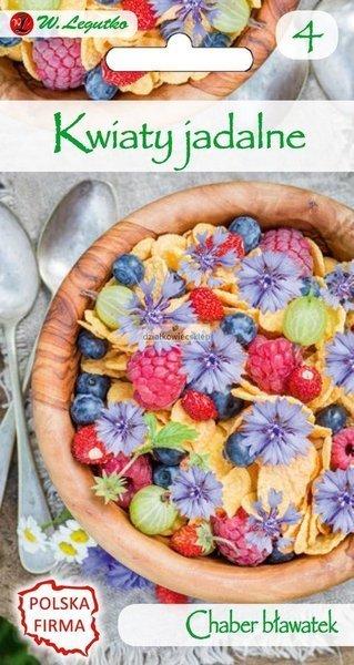 Chaber bławatek niebieski - Kwiaty jadalne (1 g)
