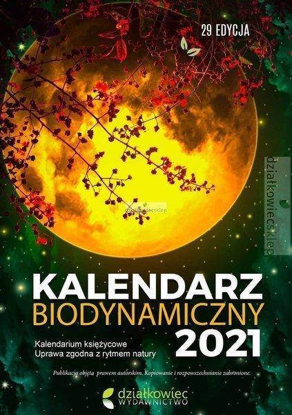 Kalendarz biodynamiczny 2021 r.  ebook