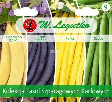Kolekcja Fasol Szparagowych Karłowych -  (4 x 10 g)