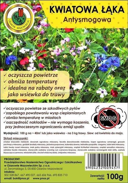 Kwiatowa łąka (100 g) - Antysmogowa -NOWOŚĆ!