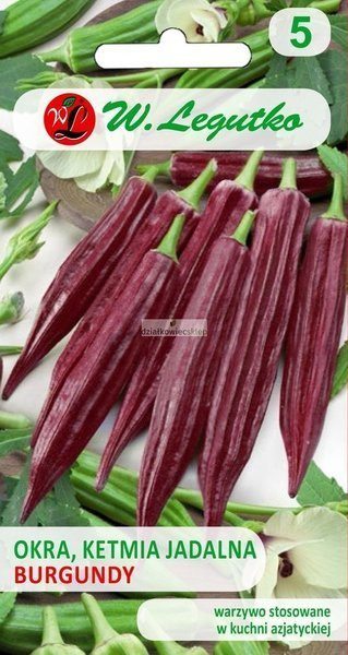 Okra - Ketmia jadalna - Burgundy (2 g)