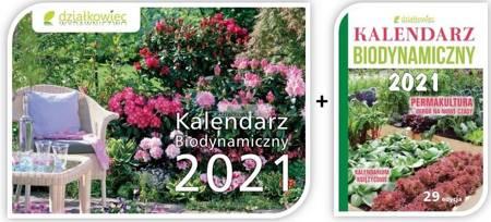 Pakiet kalendarz książkowy + ścienny 2021