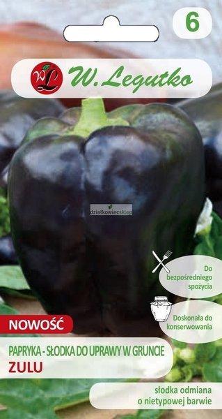 Papryka słodka do uprawy w gruncie Zulu (0,5 g)