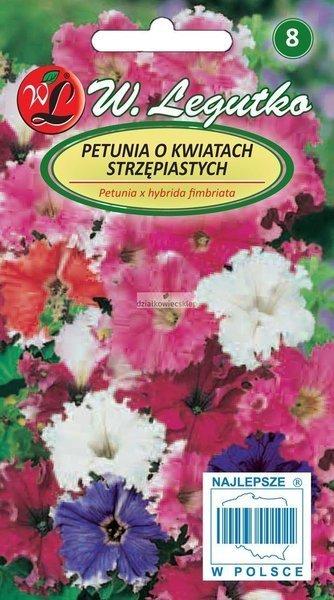 Petunia o kwiatach strzępiastych mieszanka (0,01 g)