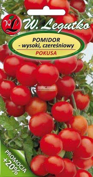 Pomidor wysoki czereśniowy Pokusa (0,5 g)