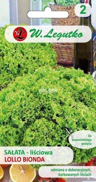 Sałata liściowa Lollo Bionda (1 g)