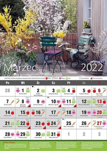 Ścienny Kalendarz Biodynamiczny 2022