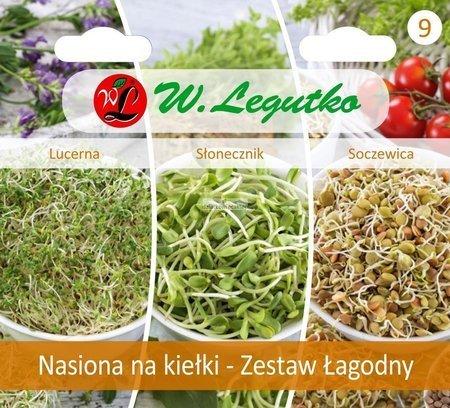 Zestaw łagodny - nasiona na kiełki